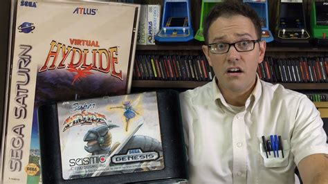 Super And Virtual Hydlide Angry Video Game Nerd Episode