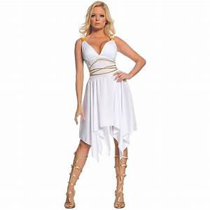 Greek Goddess Costume Adult Athena or Aphrodite Halloween ...