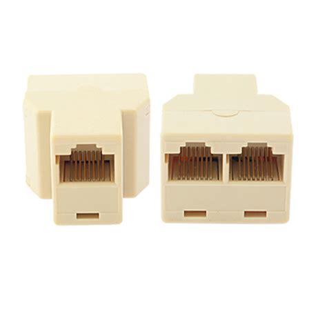 port rj network splitter