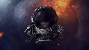 #7944 The girl in the spacesuit Wallpapers download ...