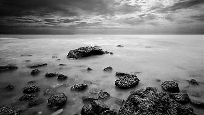 Nature Wallpapers Sea Landscapes Landscape Monochrome Mare