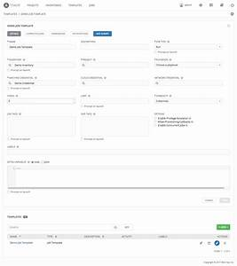 11 create a new job template ansible tower quick setup With ansible template example