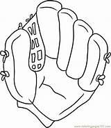 Baseball Glove Draw Step Coloring Drawing Gloves Cartoon Canvas Football Coloringpages101 Dragoart Basketball sketch template