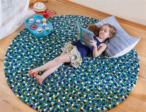 attractive felt ball rugs inhabit zone