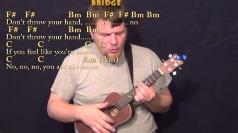 Everybody Hurts (r.e.m.) Ukulele Cover Lesson With Chords