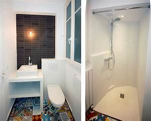 Salle D Eau 2m2 : cuisine et salle d 39 eau r organis es ~ Dailycaller-alerts.com Idées de Décoration
