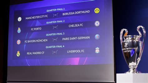 Wann findet das finale der uefa champions league 2019 statt? Champions League | Auslosung: Schwere Gegner für BVB und ...