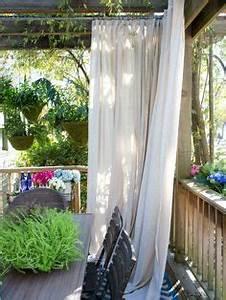 Vorhang Für Balkon : die 87 besten bilder von vorhang ideen balkon terrasse ~ Watch28wear.com Haus und Dekorationen