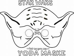 printable yoda mask template for kids With children s mask templates