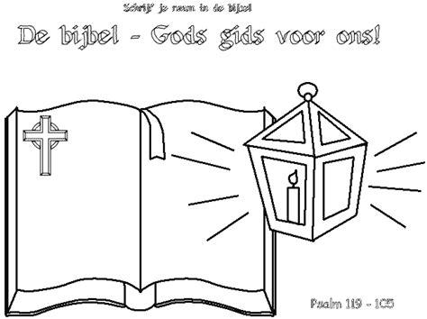 Kleurplaat Kandelaar Bijbel by Thema Bijbellezen2 Www Kindengeloof Nl