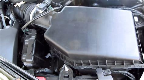 diy    honda accord air filter replacement