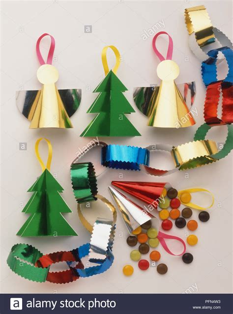 Handmade Paper Decorations Ideas - selection of handmade decorations made from