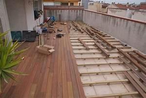 terraza y jardin de ipe andreu parquets andreu With parquet de jardin