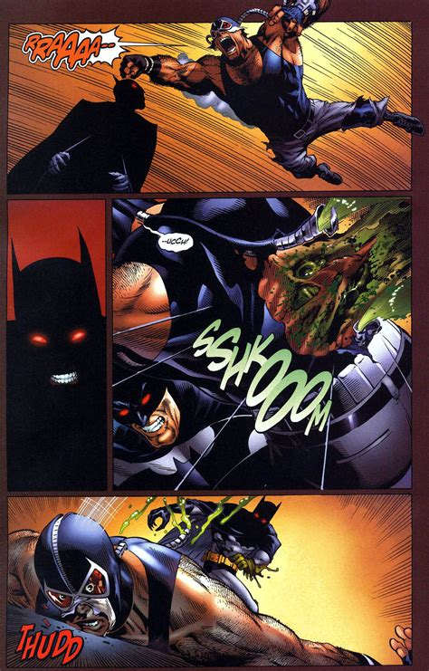 Batman Vs Bane Superbat Comicnewbies