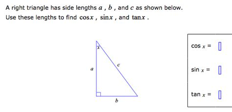 A Right Triangle Has Side Lengths A, B, , And C As