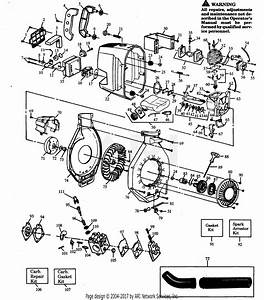 Poulan Gbi20 Gas Blower Parts Diagram For Blower Assembly