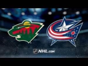 Minnesota Wild Vs Columbus Blue Jackets Tickets 19th