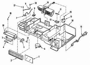 Maytag Mmv5207aab Microwave  Hood Combo Parts