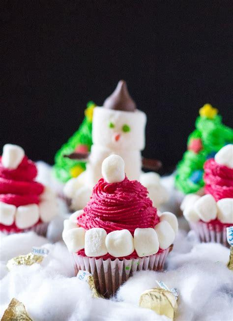 easy christmas cupcakes  knead  eat