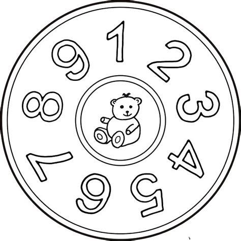 mandala zahlen eins bis neun orientacion andujar