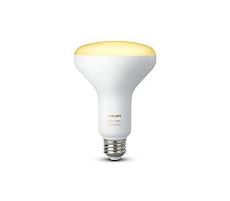 philips 464800 hue white ambiance br30 led bulb smart