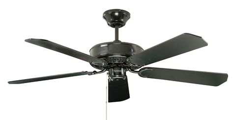 Fantasia Classic 52 Black Ceiling Fan 110460