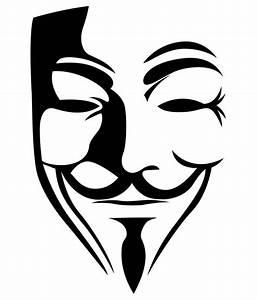 Trends on Wall Vendetta Mask Sticker - Medium: Buy Trends ...