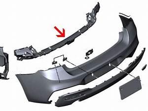 Bmw 1 U0026 39  Series F20 F21 Lci M Sport Rear Bumper Side Guide