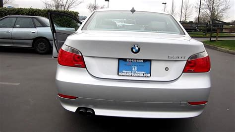 2007 Bmw 530i, Silver- Stock# H1929