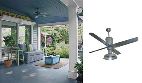 barn style ceiling fans galvanized metal ceiling fans add industrial appearance