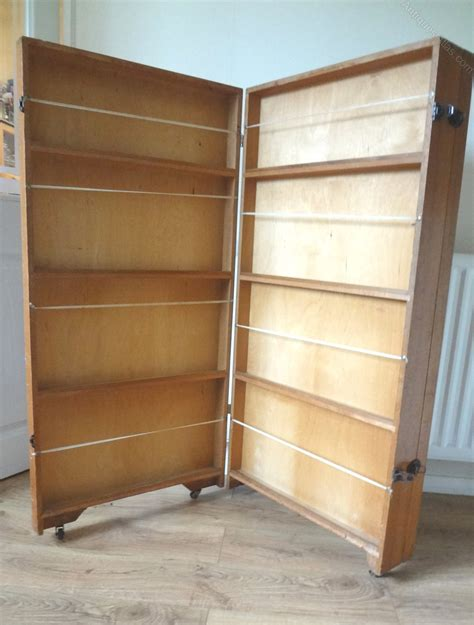 Fold Up Bookcase by Antiques Atlas Vintage School Folding Bookcase