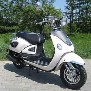 Retro Roller Kaufen Berlin : motorroller 50ccm retro roller mit 45 km h flash weiss ~ Jslefanu.com Haus und Dekorationen