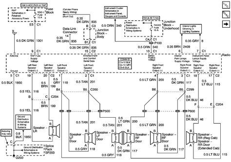 05 Chevy Silverado Radio Wiring Diagram by Wiring Schematic For 2009 Chevrolet Avalanche Wiring Library