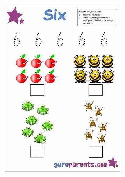 Preschool Number Worksheet Worksheets Numbers Activities Sheets