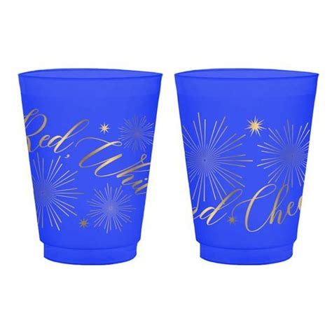red white  images frosted cup red  white