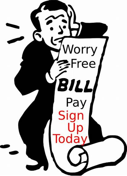 Bill Pay Payment Automatic Clipart Plan Pre