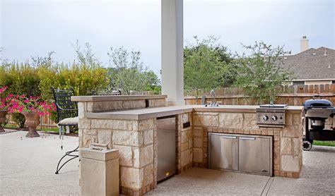 outdoor kitchens spindler construction austin texas