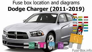 Fuse Box Location And Diagrams  Dodge Charger  2011-2019