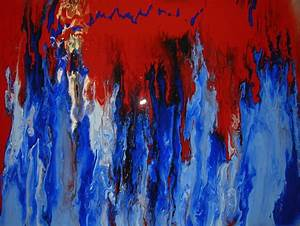 Fluid Abstract Art Painting, Acrylic Painting Techniques ...