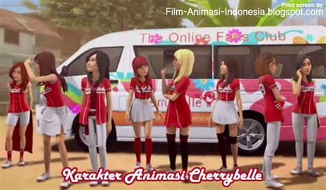 animasi cherrybelle  film adit sopo jarwo film animasi indonesia