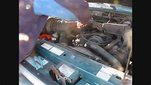 Replacing Heater Valve On 1995 Ford Ranger 23l