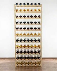 Casier À Bouteilles En Bois : casier vin en bois massif ajour pour 77 bouteilles ~ Dode.kayakingforconservation.com Idées de Décoration