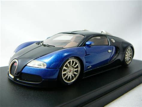Bugatti Veyron Study 2003 Miniature 1/43 Looksmart Loo