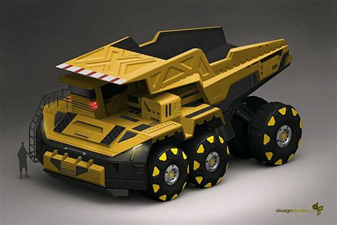 concept work truck annis naeem concept art looks like a really cool tonka