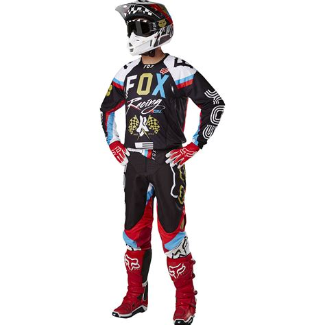 fox motocross fox racing 2017 mx new 360 rohr black gold jersey pants