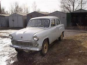 Old Russian Moskvitch Restored After Years Of Storage