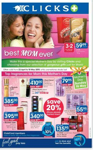clicks mothers day specials apr