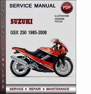 Suzuki Gsx 250 1985