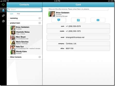 lync for iphone how to conduct a conference call using microsoft lync