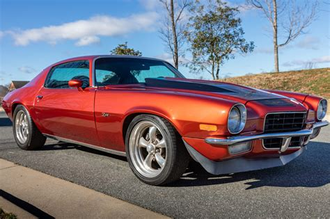 Modified 1972 Chevrolet Camaro 5-Speed for sale on BaT ...